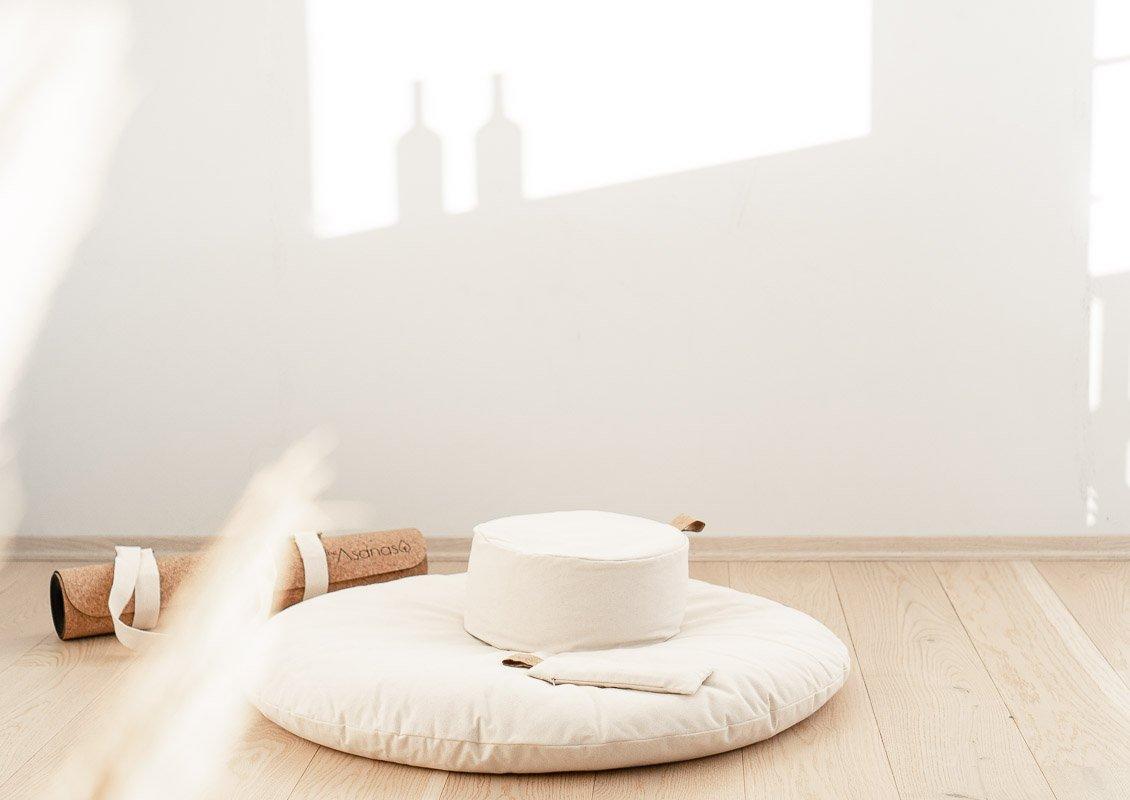 Hvordan meditere guidet meditasjon norsk meditasjonspute økologisk bomull mindfulness mindful avslapning