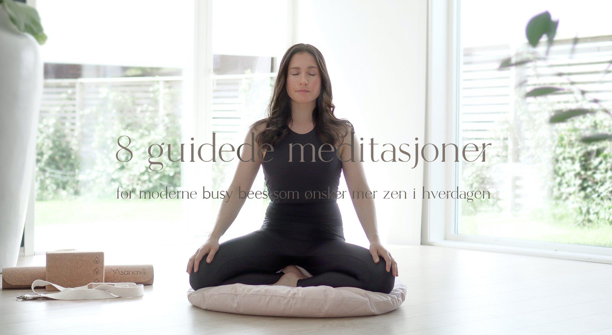 hvordan meditere med meditasjonskurs online på norsk med guidet mindfulness