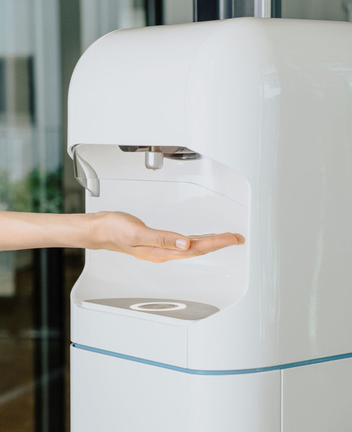 SANI.AI smart sanitizer — hand sanitization