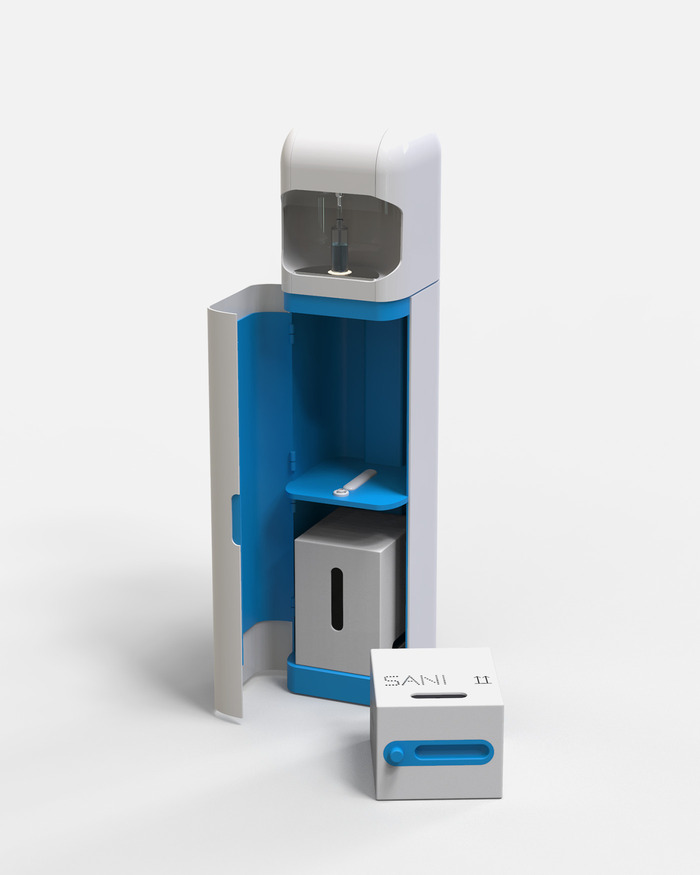 SANI.AI smart sanitizer subscription cartridge