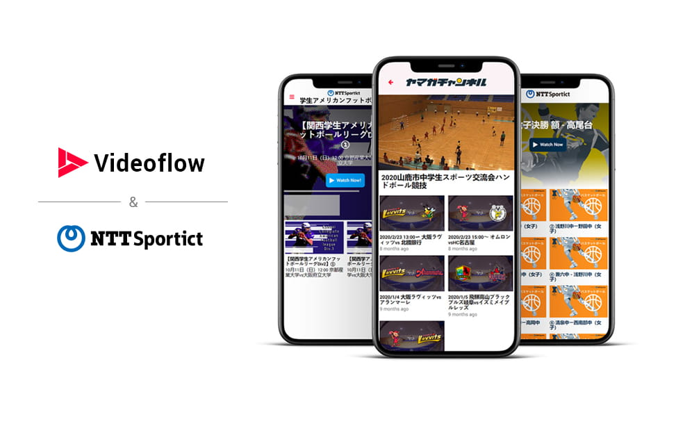 NTTSportict Launches Multiple OTT Sports Channels with Videoflow