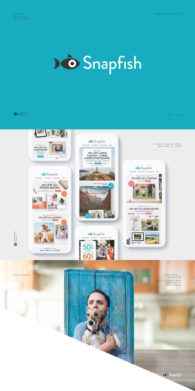 Snapfish design and art direction