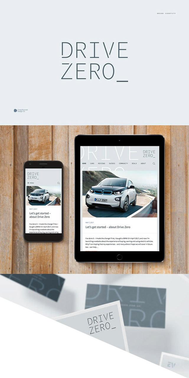 Drive Zero branding