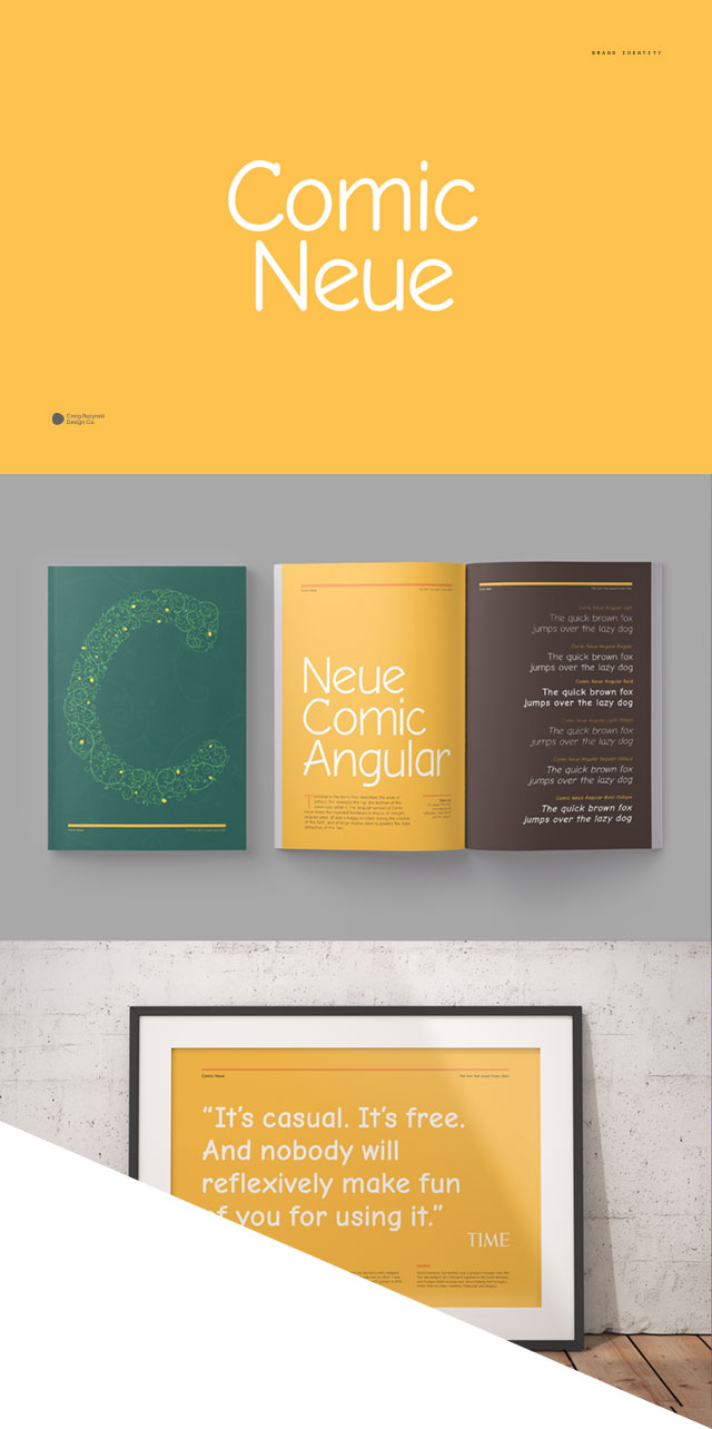Comic Neue font