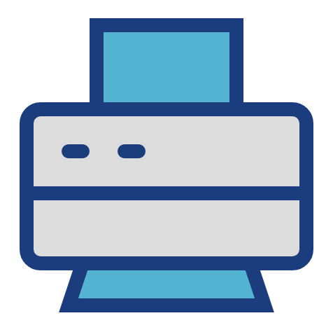 Copier Service Company printer Icon