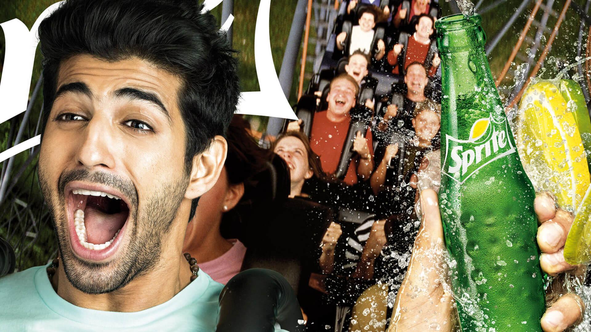 Sprite rollercoaster Advertisment