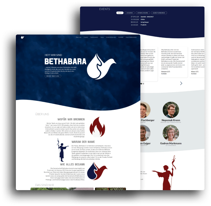 Bethabara Gemeinschaft - Website