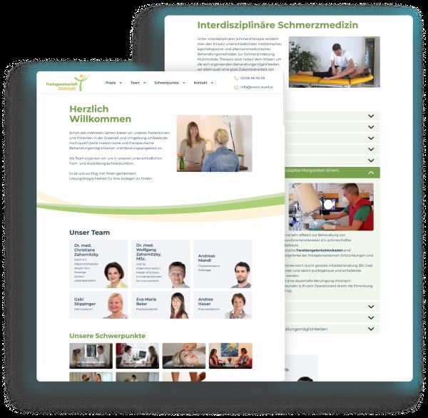 Praxisgemeinschaft Süd - Website