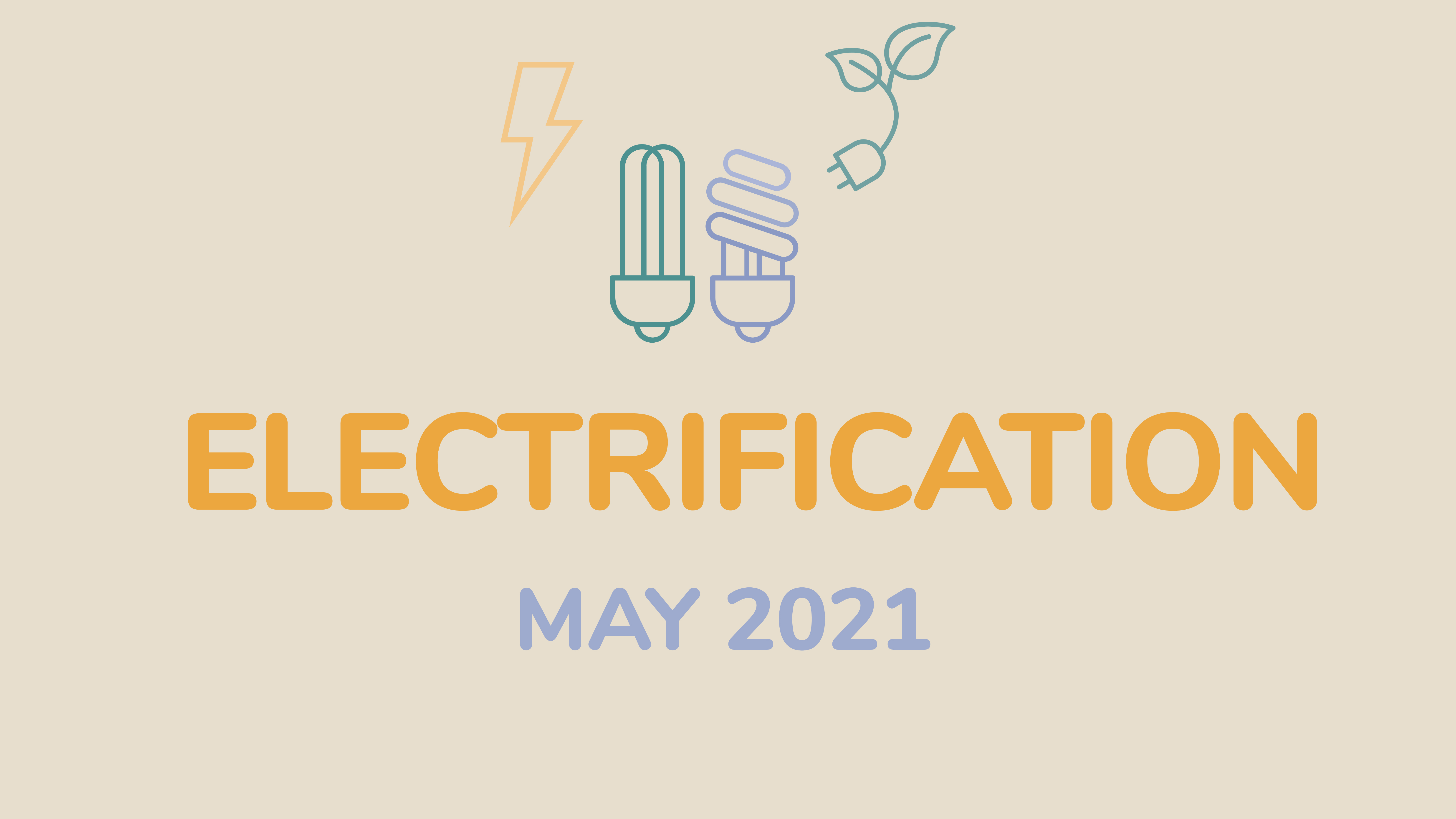 Electrification and energy