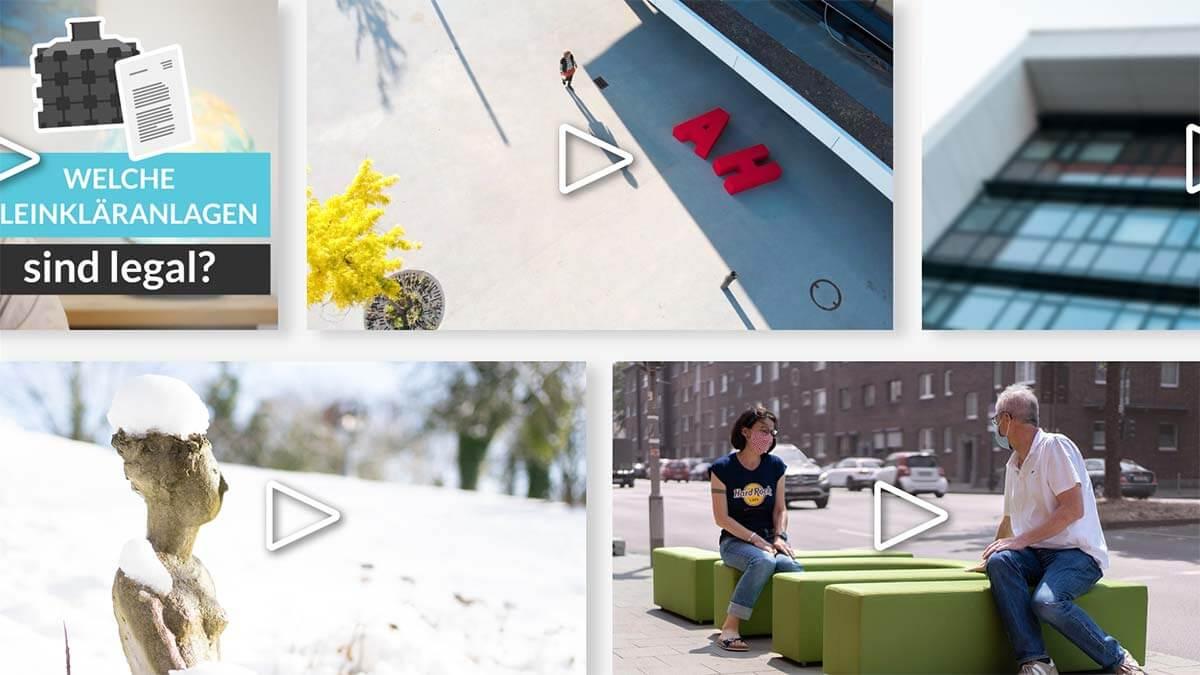 Videos Sammlung Thumbnails Lanterno - Design & Video für Unternehmen