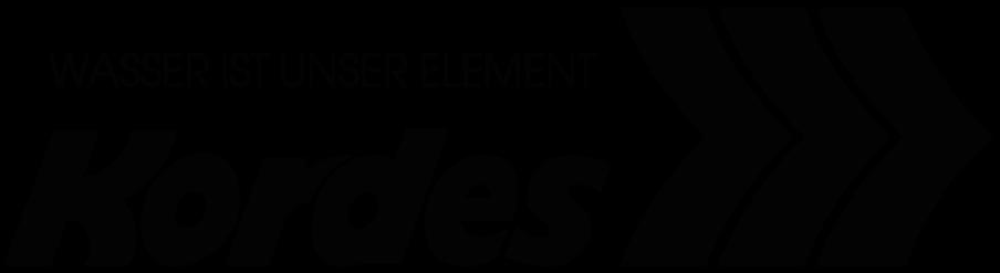 Logo Kordes Wasser ist unser Element Kleinkläranlagen