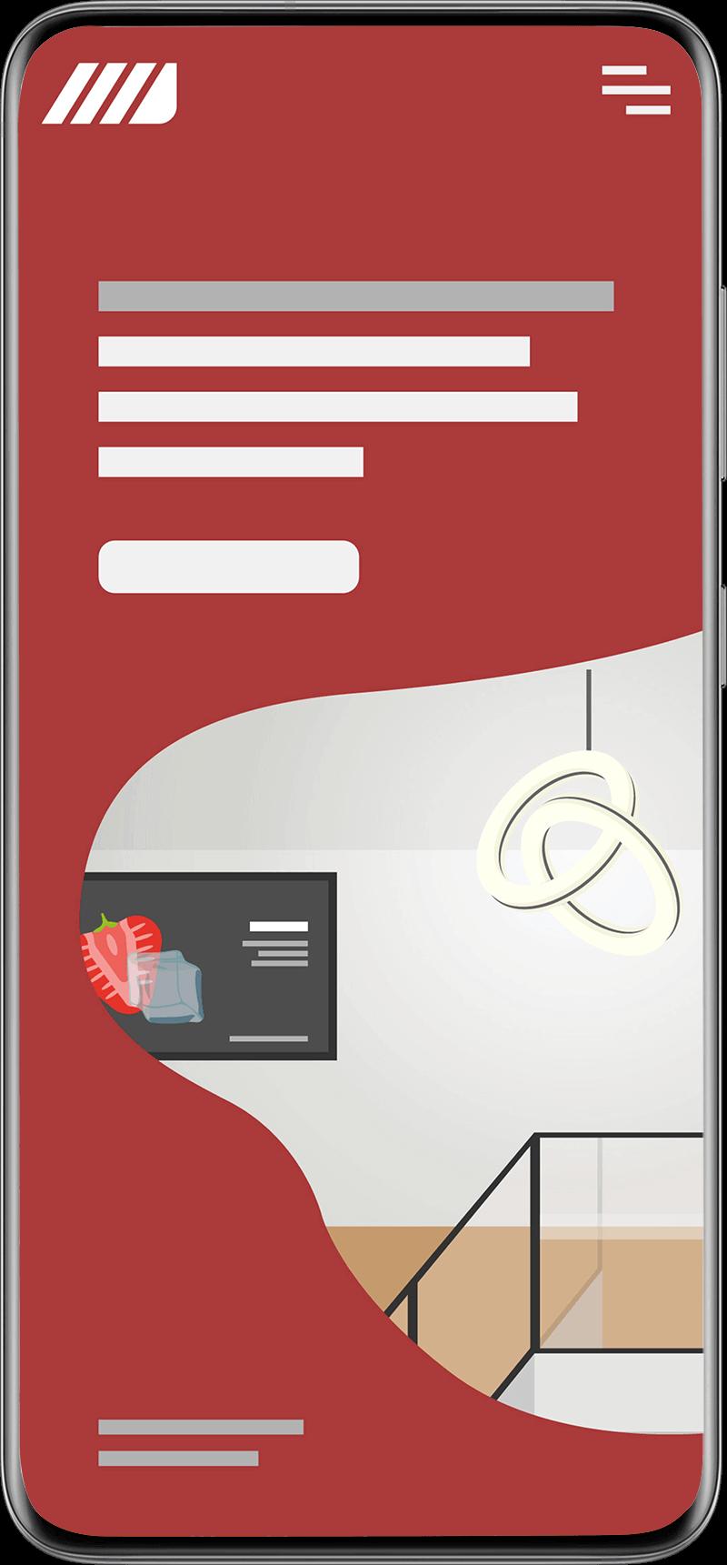 Phone Handy Ansicht Mobile Responsive Auf Handy bedienbar Nutzerfreundlichkeit