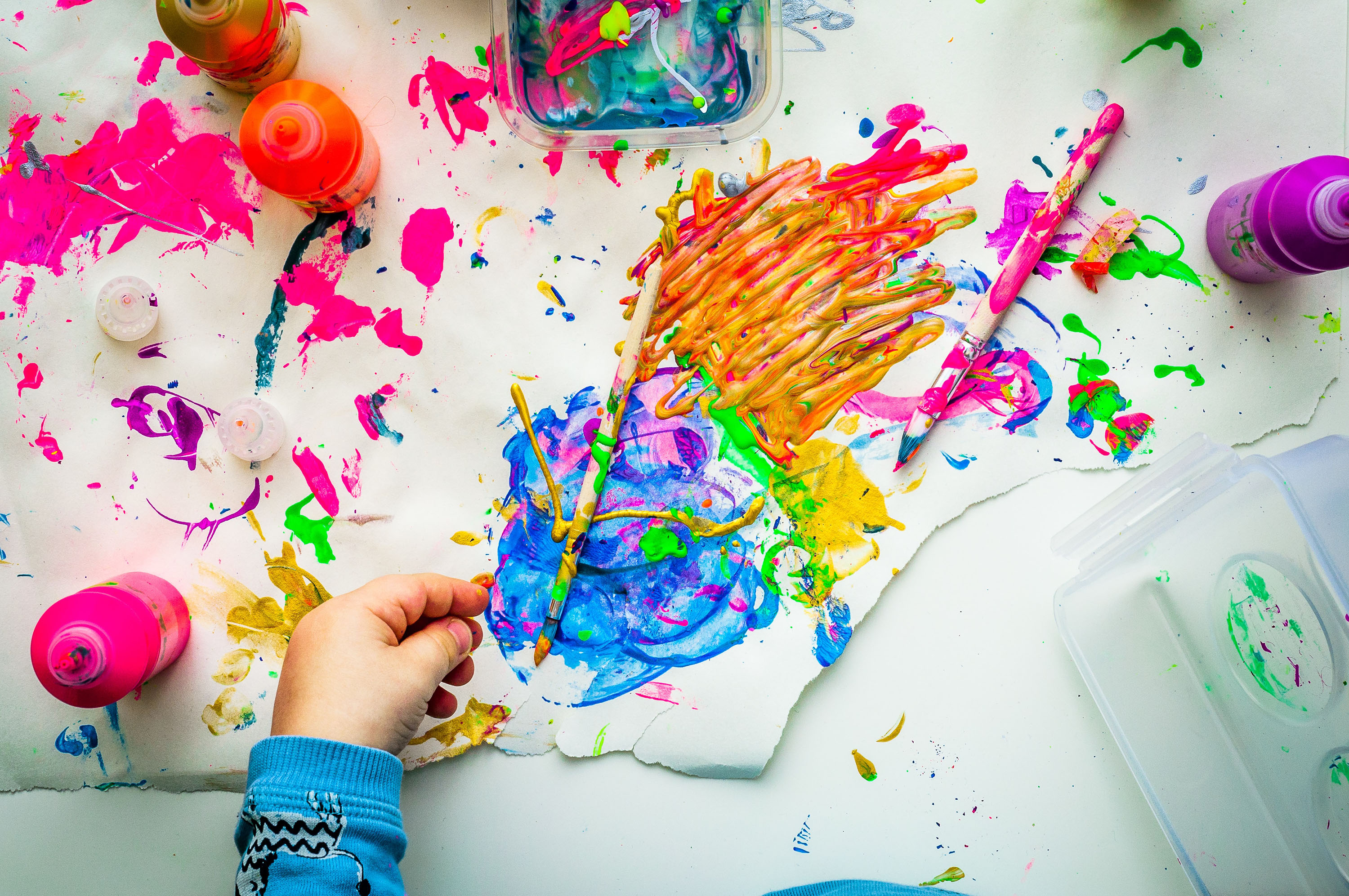 Why kids seem to be more creative?
