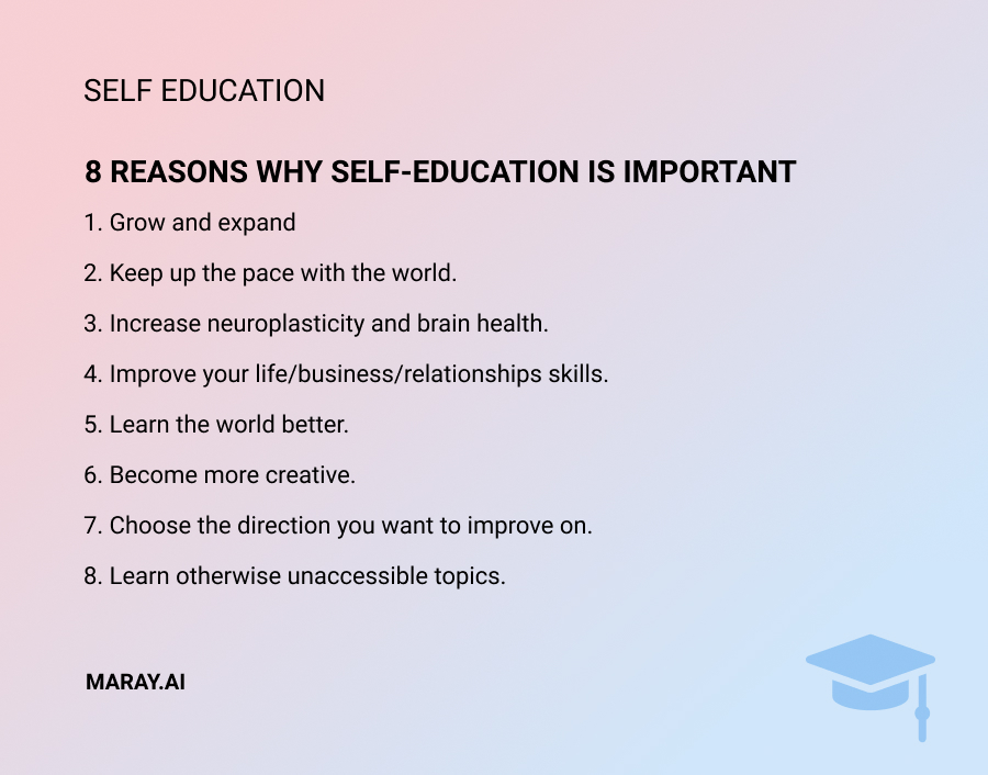 8reasons why self-education is important