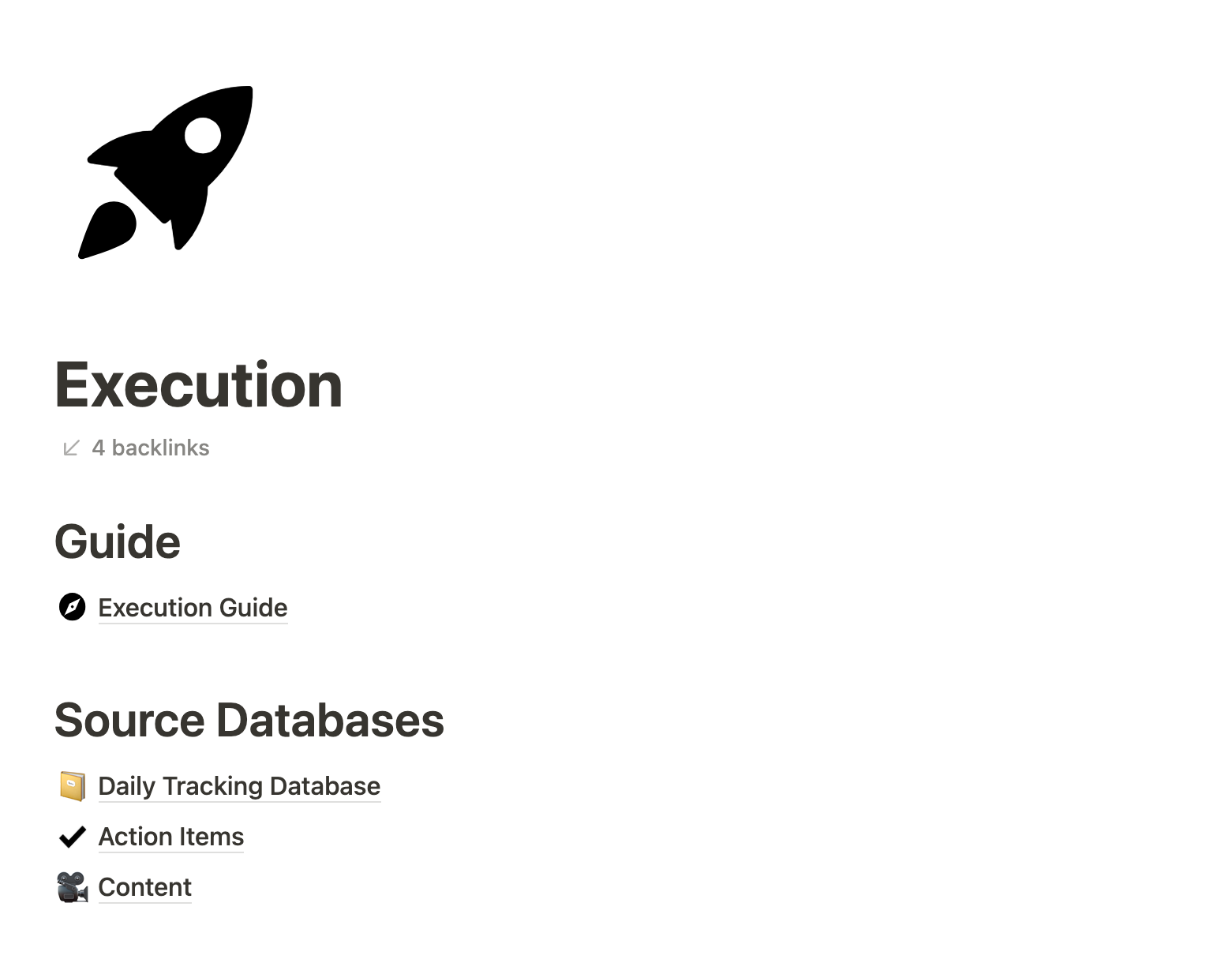 Notion life operating system execution guide