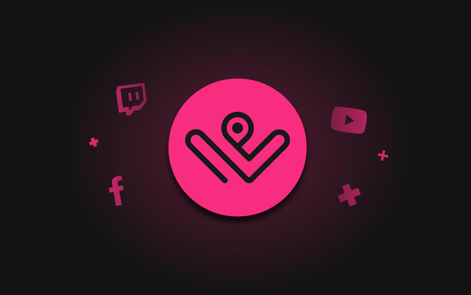 Glowing Webblen logo
