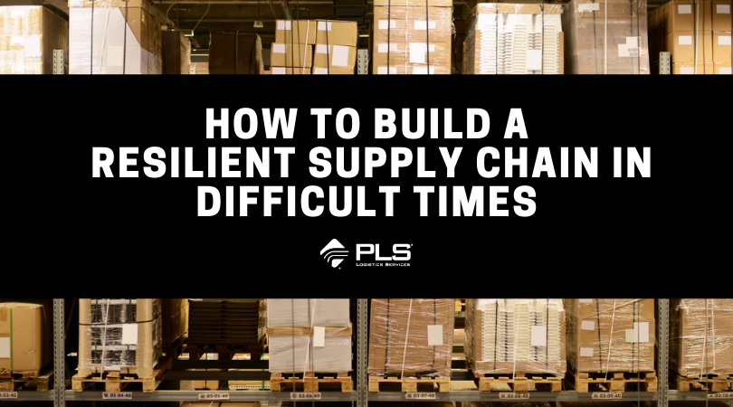 How to Build a Resilient Supply Chain in Difficult Times