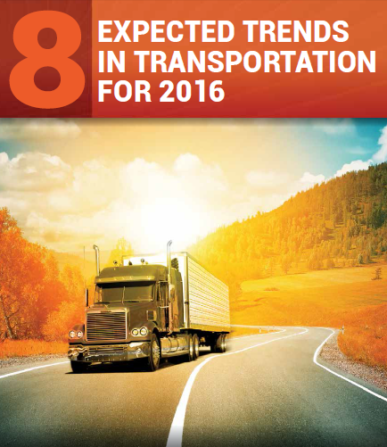 2016 Trends In Transportation 8 Expected Trends In Transportation For 2016