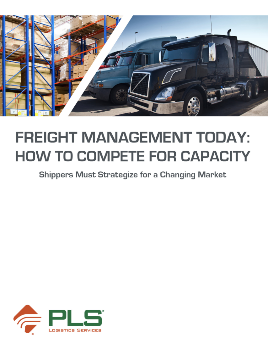 Freight Management Today: How to Compete for Capacity