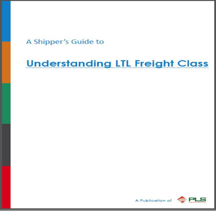 A Shipper's Guide to Understanding LTL Freight Class