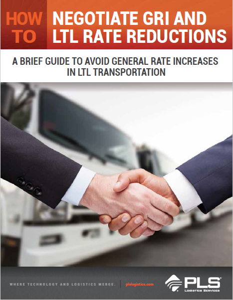 How to Negotiate GRI and LTL Rate Reductions A Brief Guide To Avoid General Rate Increases In LTL Transportation