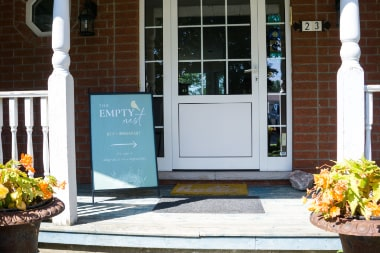Front entrance of The Empty Nest