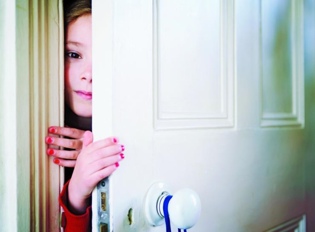 child not giving parent privacy