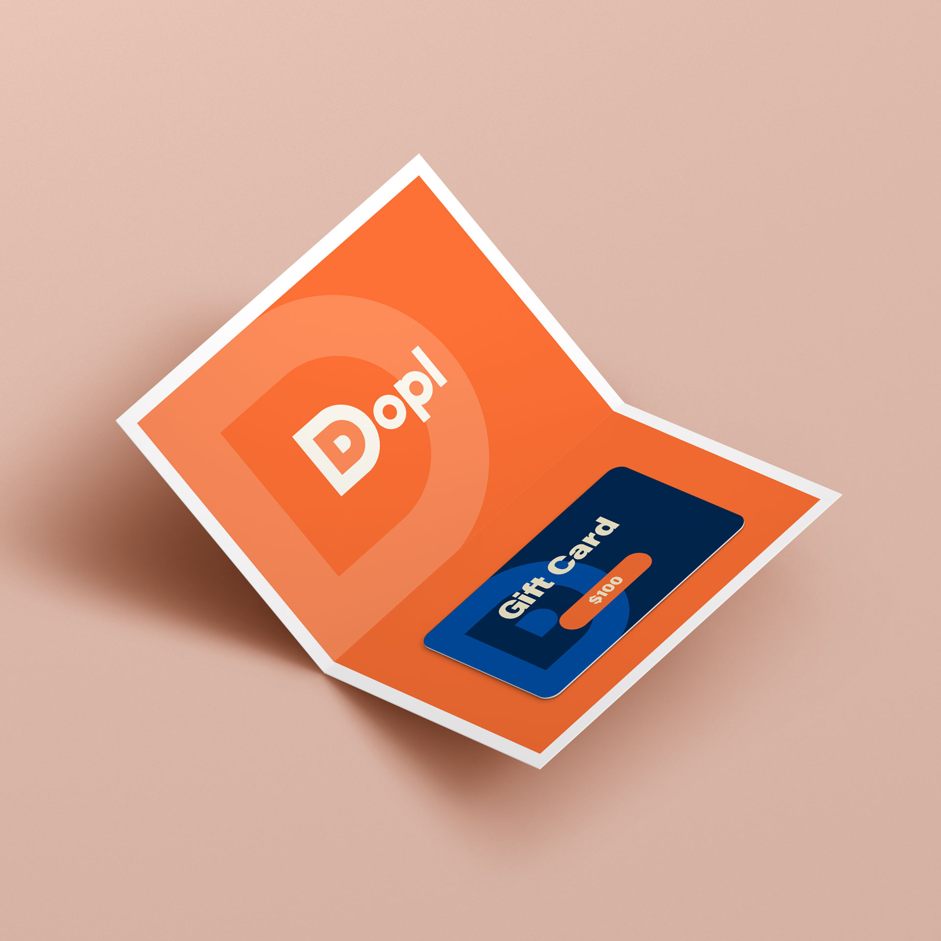image of a Dopl gift card.