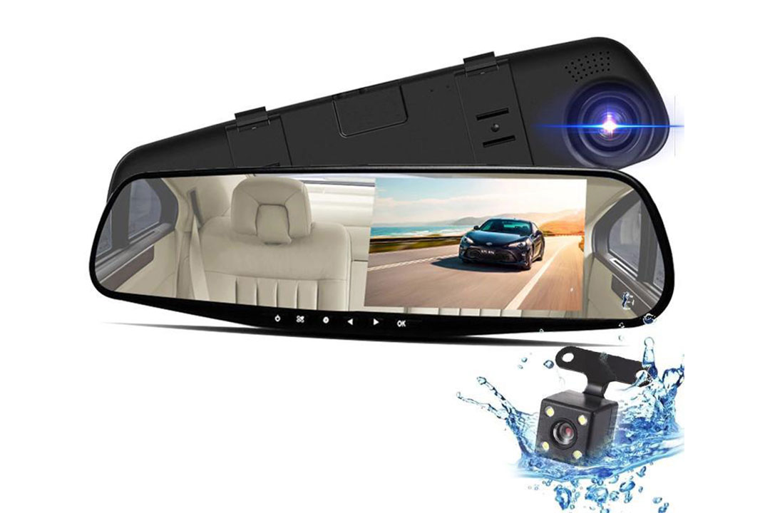 Front and Reverse Camera Installation