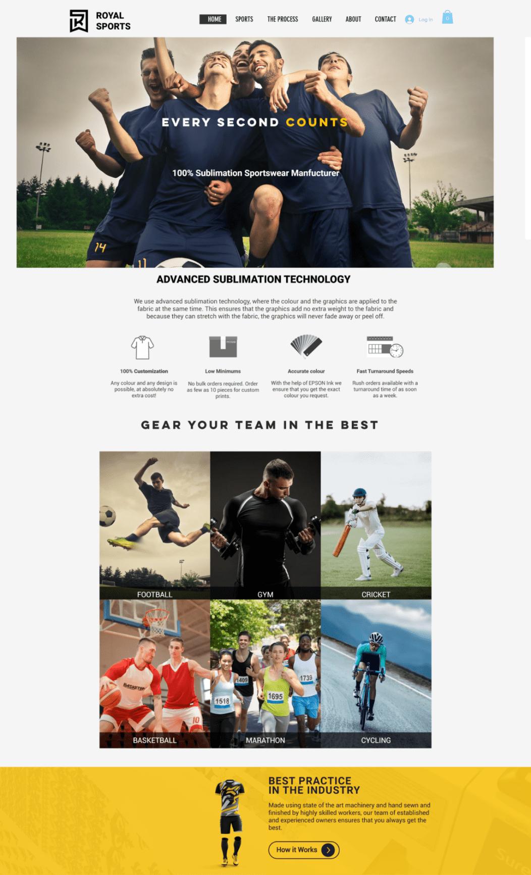 royal sports old website