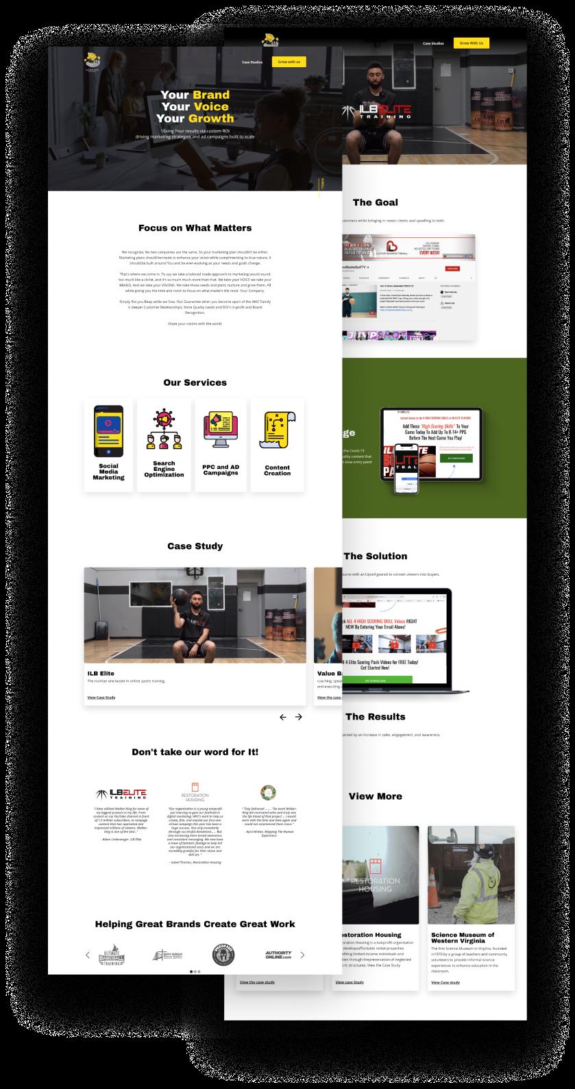 walker king new website