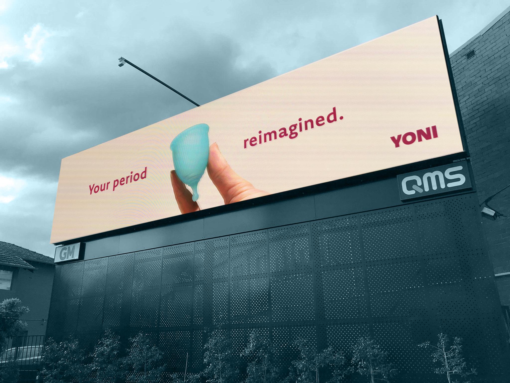 Outdoor Billboard in Melbourne.
