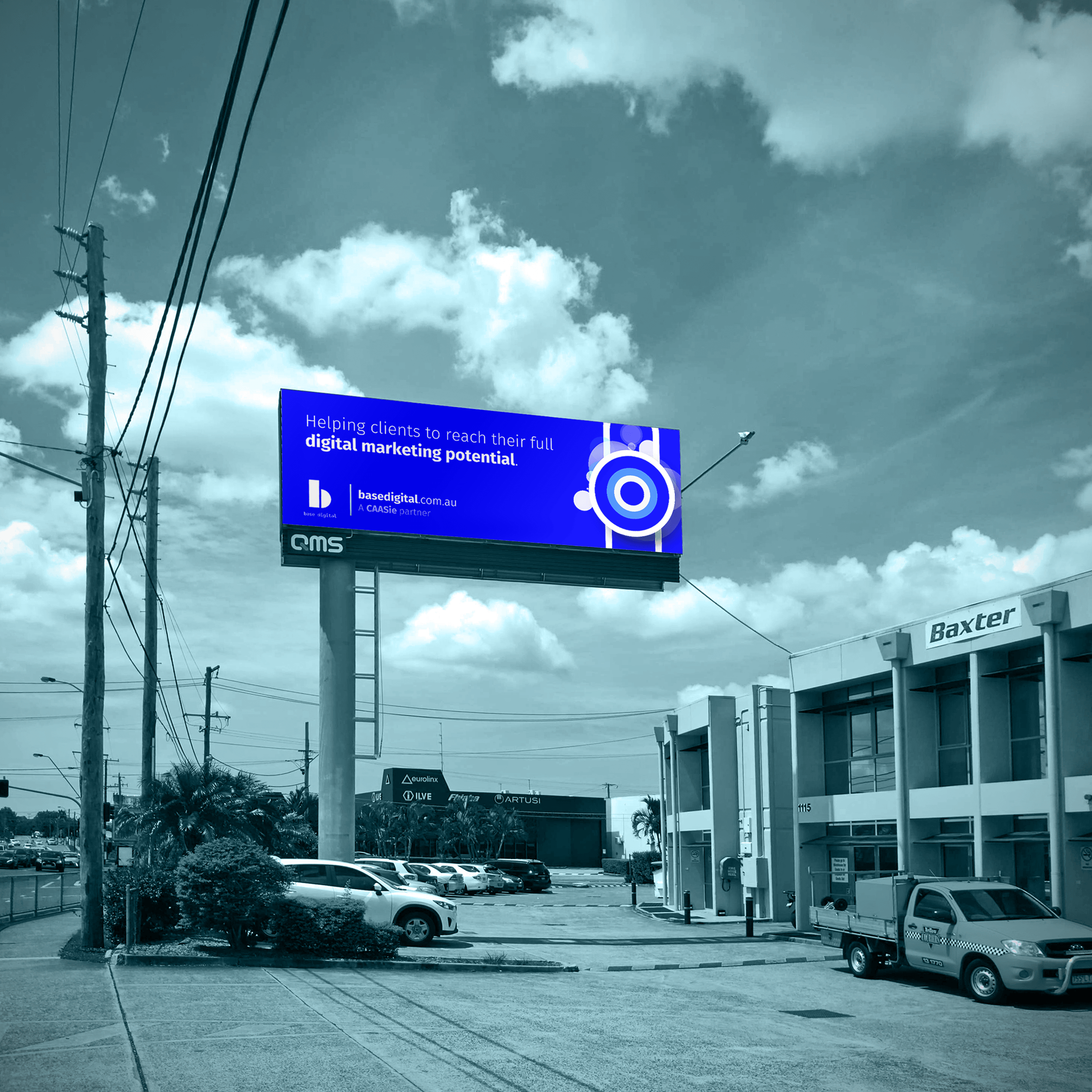 Outdoor Billboard in Brisbane.