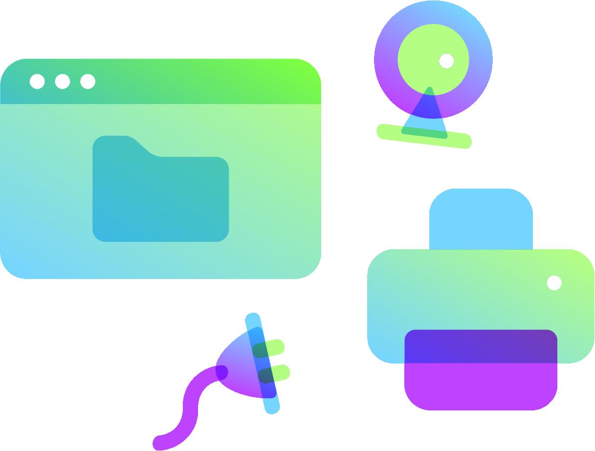 logiciels et accessoires