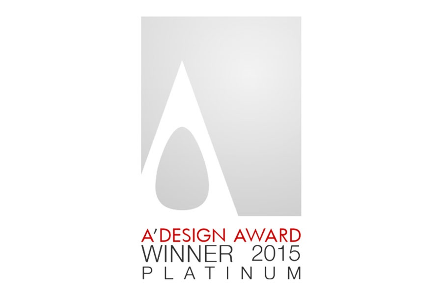 PLATINUM A'DESIGN AWARD 2015, INTERIOR SPACE AND EXHIBITION DESIGN