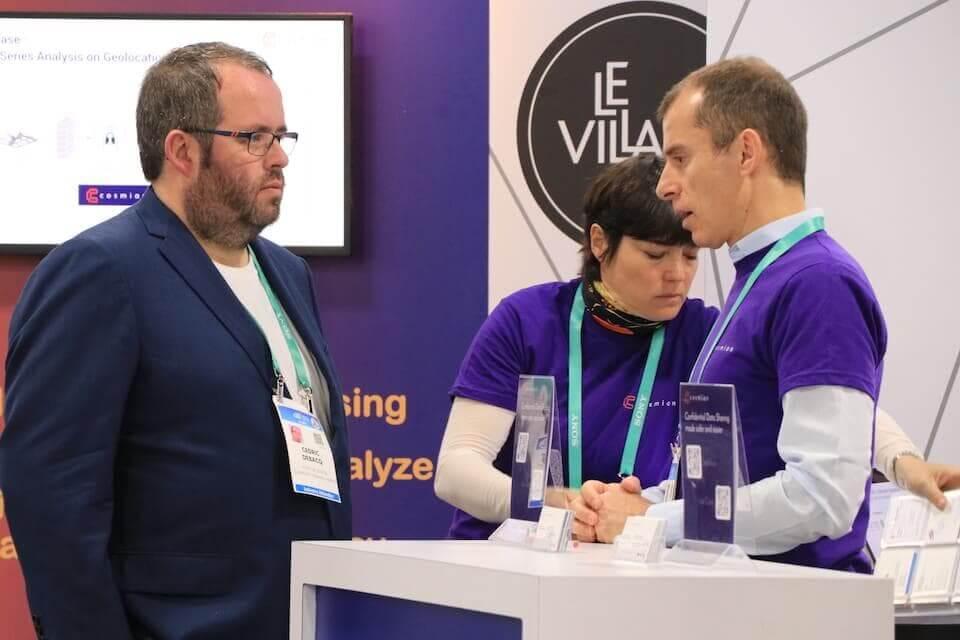 Cédric Debacq fondateur Le Puy de la Com à Las Vegas au CES 2020