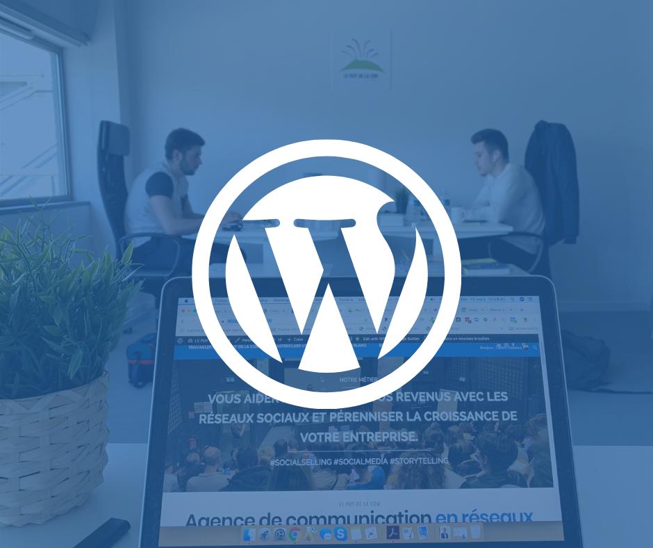 Création site Wordpress Clermont-Ferrand