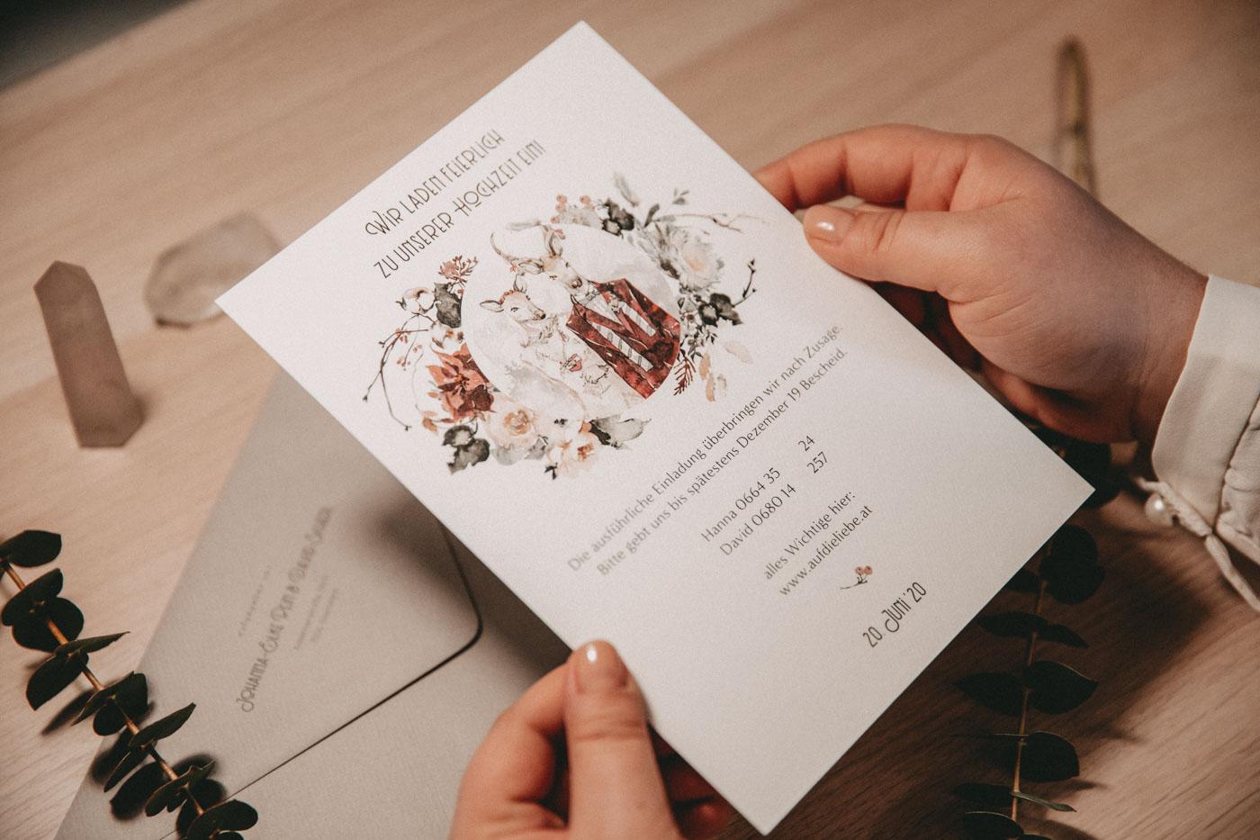 """Hochzeichtspapeterie """"PURE • wedding designery"""""""