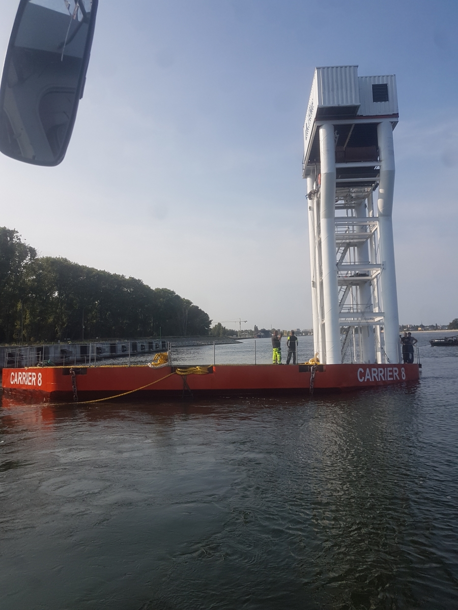 Submersible test in Swinoujscie