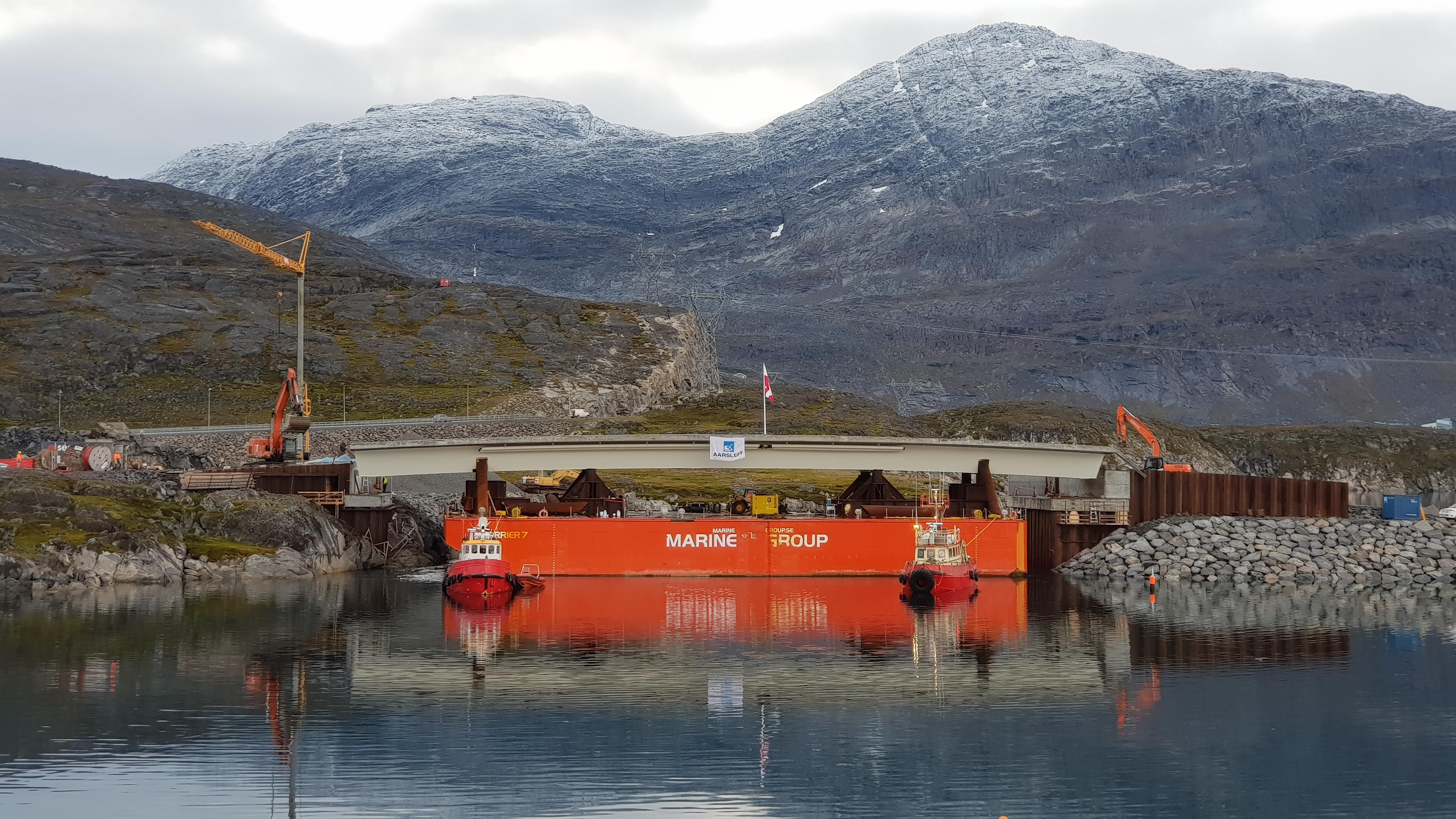 Nuuk Bridge Installation