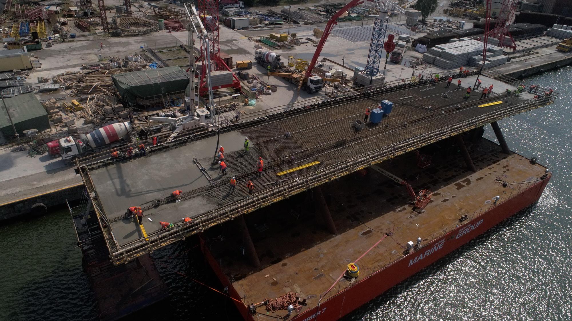 Nuuk Bridge Construction