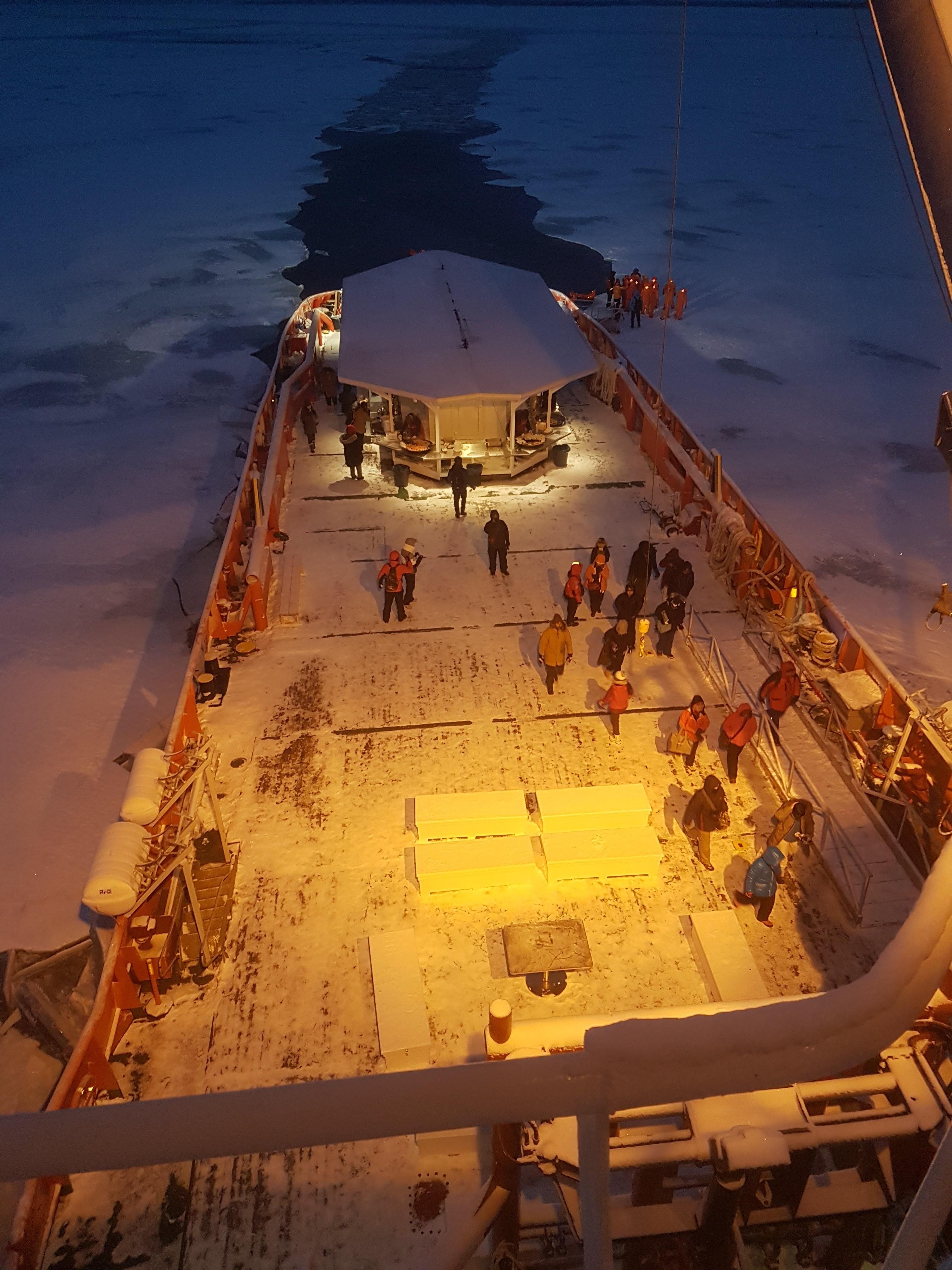 Polar Explorer on duty