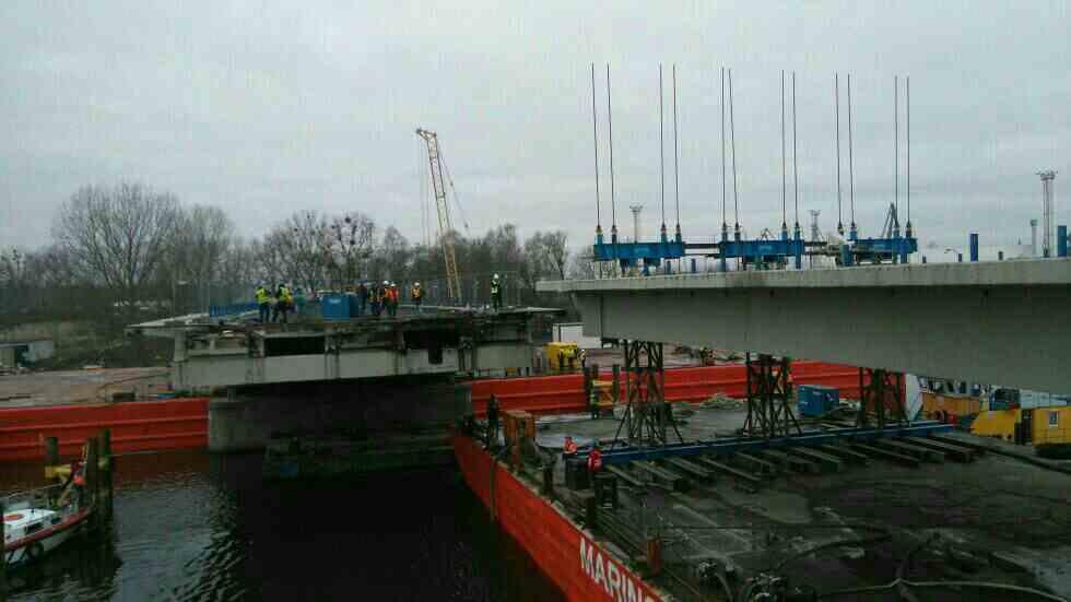 Dismantling bridge