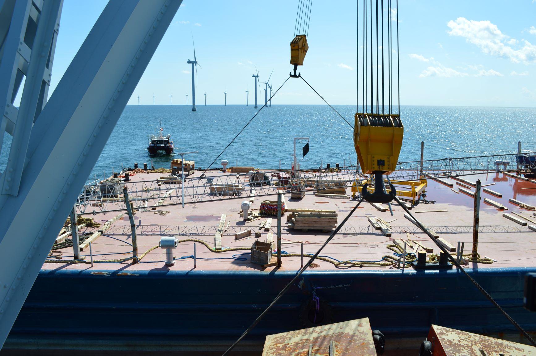 Removing MET-mast