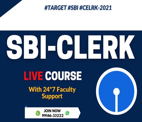 SBI Clerk online coaching