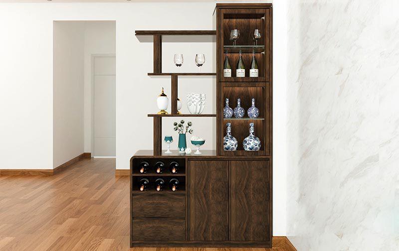 Đôi nét về tủ rượu phòng khách