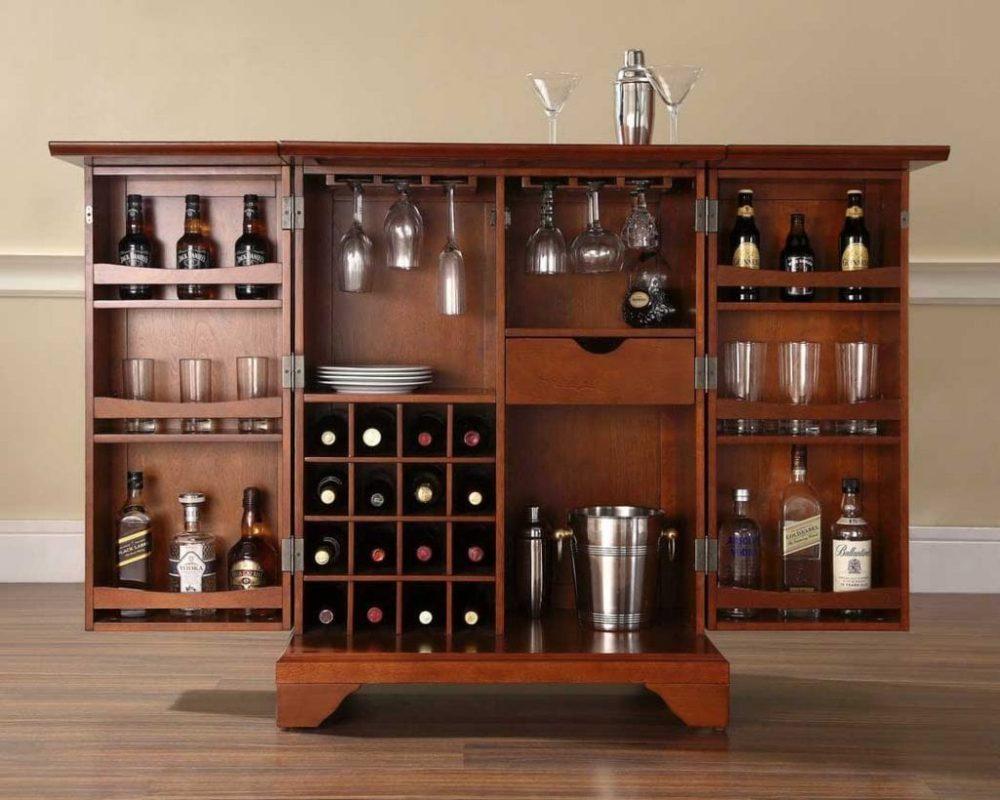 Lựa chọn đơn vị cung cấp tủ rượu phòng khách đẹp và uy tín