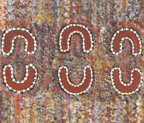 A painting by Banjo Morton