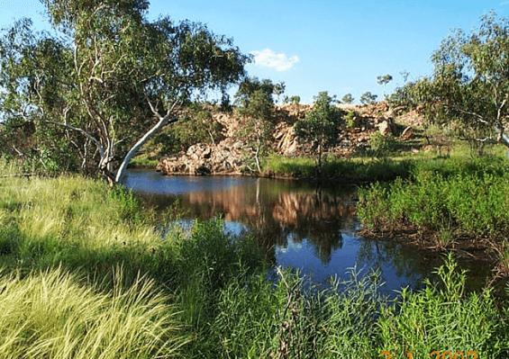 A photo of Davenport Ranges