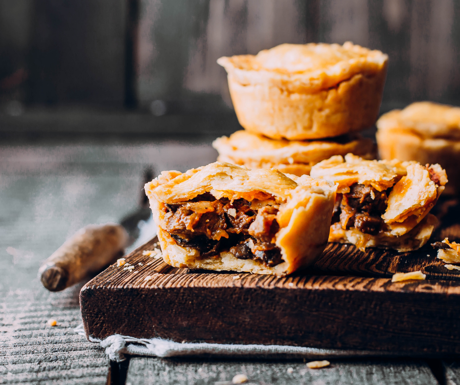 Meat pie is an iconic Australian dish